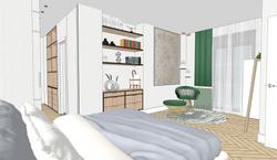 11 Vista general del dormitorio