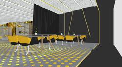 23 Sala de reuniones grande. Sala de proyección y eventos.