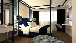 Vista general dormitorio en suite