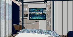 Zona de trabajo del dormitorio