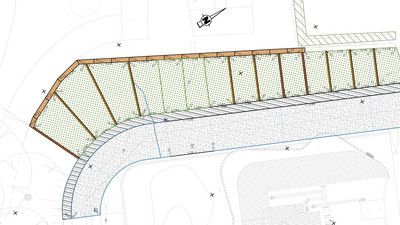 Projet aménagement parking