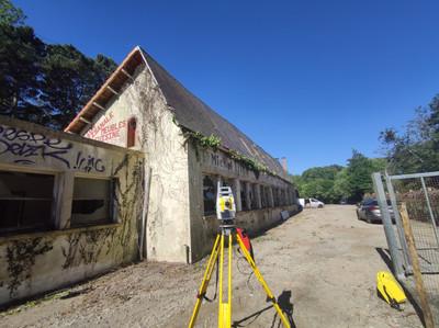 Relevé ancienne usine pour réhabilitation