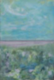 Landskab - et spejlbillede af haab 40x60