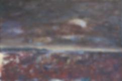 Foer eller efter uvejret 120x80 Akryl og