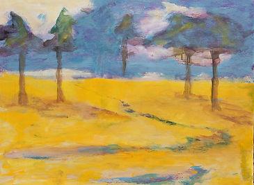 Fem træer