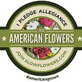 I pledge allegiance to American Flowers join slowflowers.com