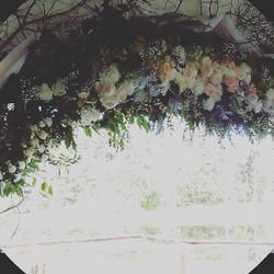 Wedding arch closeup