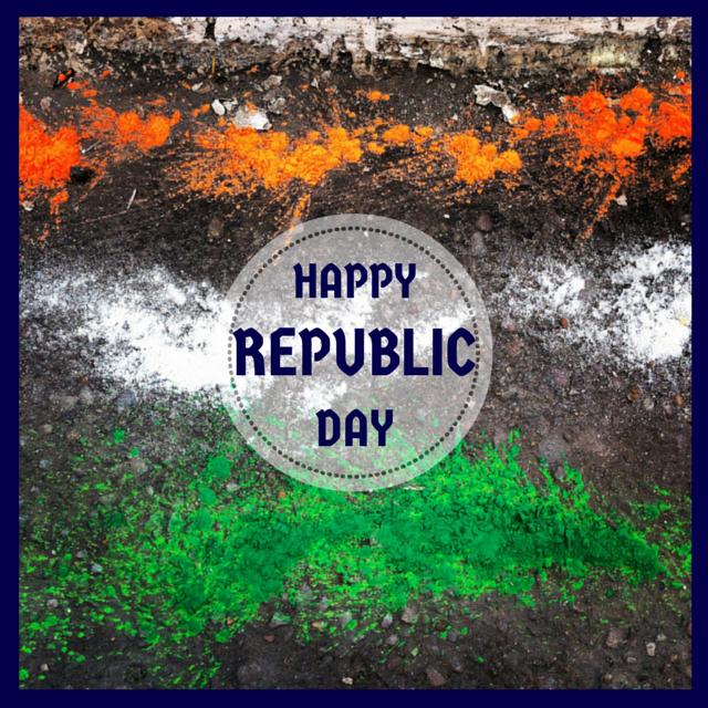 Republic Day Charlotte Tottenham Delhi India