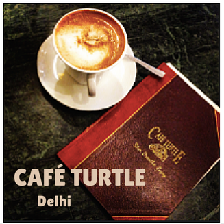 Cafe Turtle, Delhi - the quest to find a quiet café in India's capital