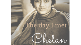 The day I met Chetan - the trials and tribulations of IIT