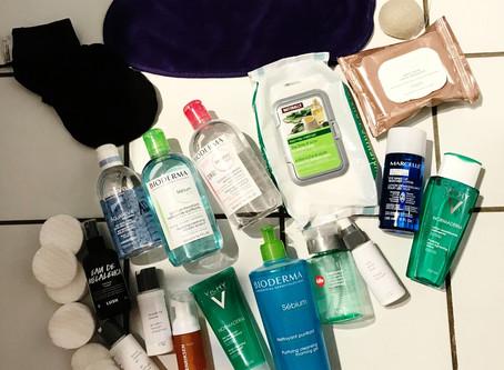 Les types de nettoyants pour le visage