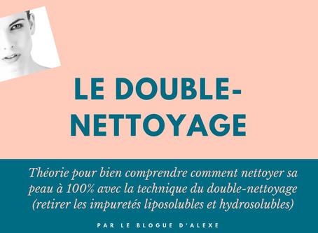 LE DOUBLE-NETTOYAGE: Théorie et exemples d'huiles nettoyantes pour le visage ✨