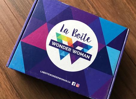 La boîte Wonder Woman 👩💪