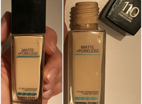 Fond de teint «Fit Me Matte + Poreless» de Maybelline