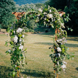 Arch floral example