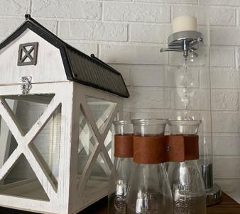 Farm lanterns/vases
