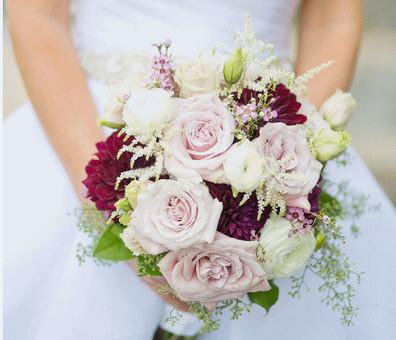 Roses & astilbe