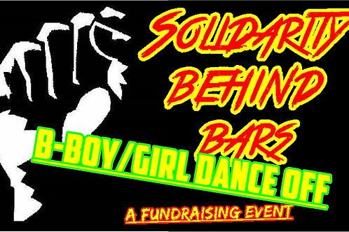 Solidarity Behind Bars B-Boy/Bgirl Dance off