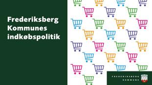 Verdensmålsbaseret indkøbspolitik i Frederiksberg Kommune
