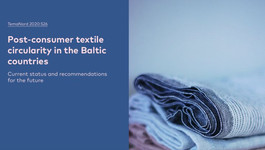 Is there potential for a Nordic-Baltic circular textile eco-system?