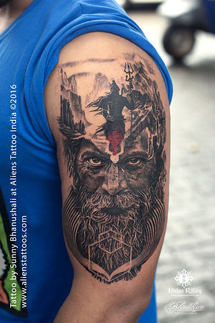 Mortal Journey of Lord Shiva Tattoo
