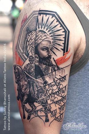 Chatrapati Shivaji Tattoo