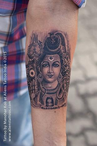 Beautiful Lord Shiva Tattoo