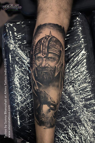 Medieval Warrior Tattoo II