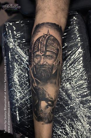 Medieval Warrior Tattoo II