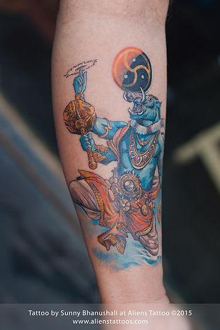 Lord Varaha Tattoo