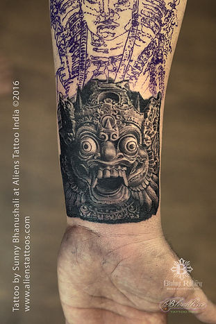 Protector of Buddha Tattoo