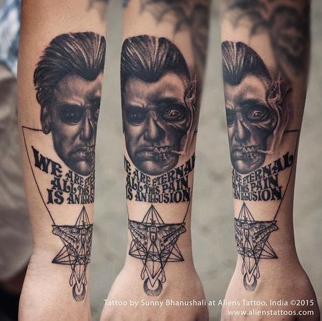 John Constantine Tattoo
