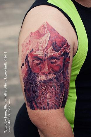 Aghori Tattoo