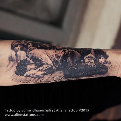 Jim Morrison Tattoo
