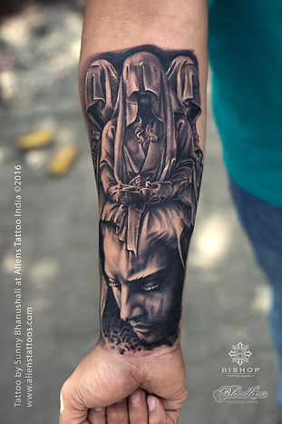 Roman Sleeve Tattoo