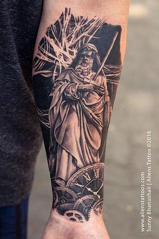 St Peters Basilica, St. Paolo Fuori Le Mura Tattoo