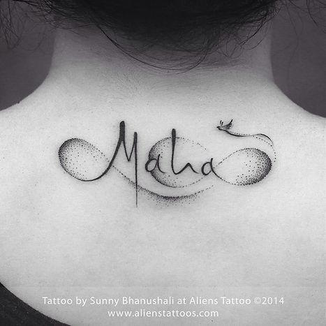 Maha Script Tattoo