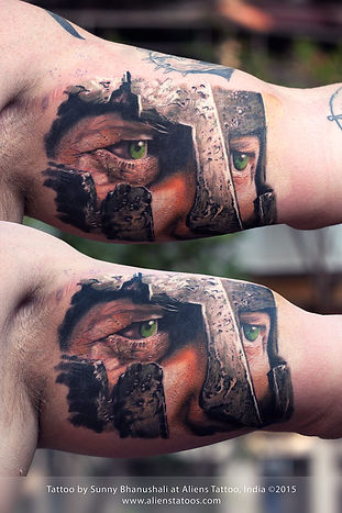 Spartan Warrior Tattoo