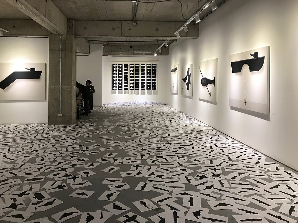 Installation, Antidotes Against War, 2017