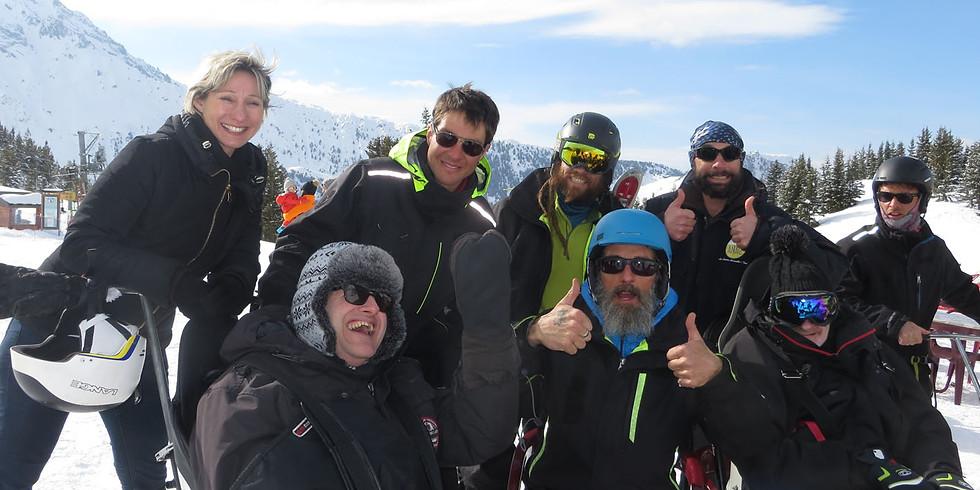 Handi ski à Pralognan la Vanoise