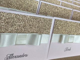 Wedding Stationery for Alexandra & David