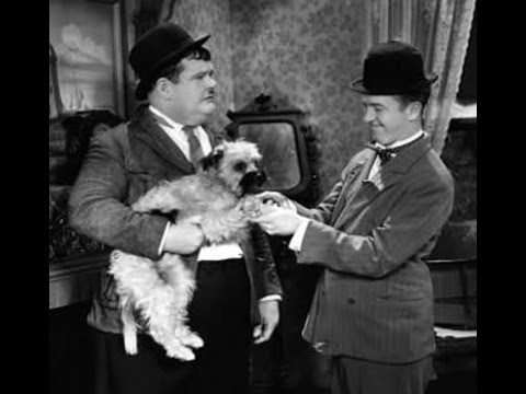 Short Film Wednesday - Laurel and Hardy - Laughing Gravy