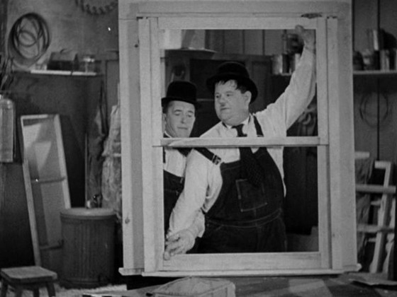 Short Film Wednesday - Laurel and Hardy - Busy Bodies (1933)