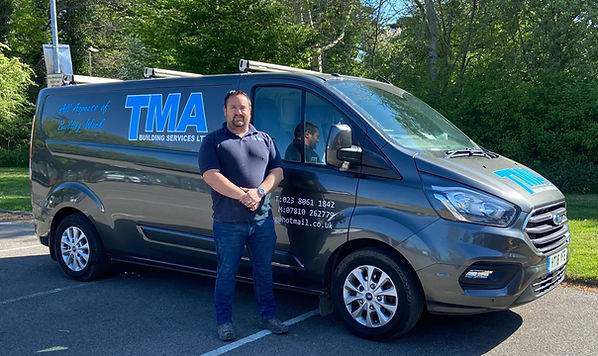 TMA Building Services Pete and Van