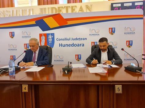 S-a semnat contractul de execuţie de lucrări pentru lotul 2 al Culoarului Trafic Mureș Nord