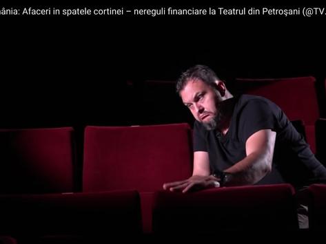 """""""Actorii"""" din Petroșani, prestație jenantă la TVR!"""