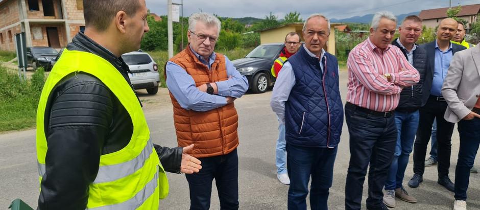 Au fost predate amplasamentele pentru cele trei loturi de drumuri județene -Culoarul Mureș Nord