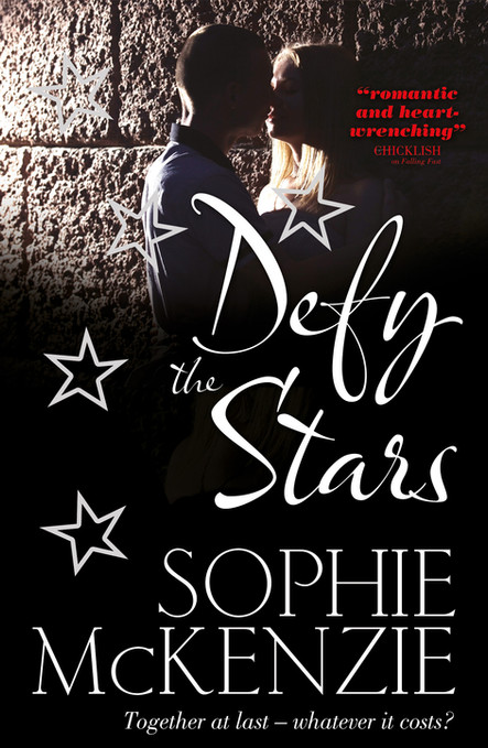 Front cover of 'Defy the Stars' by Sophie McKenzie.