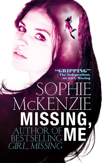 Front cover of 'Missing, Me' by Sophie McKenzie.