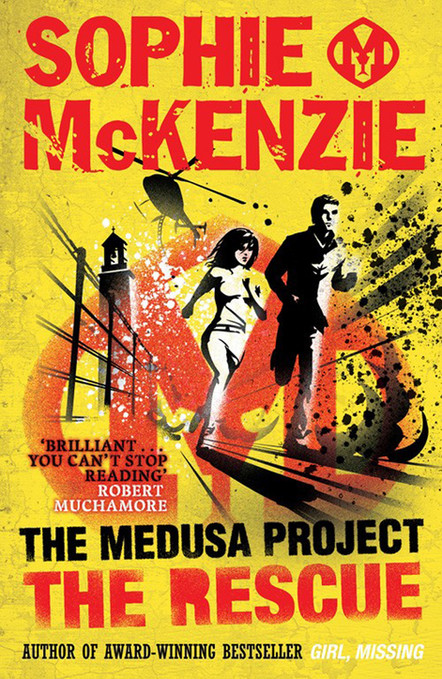 Front cover of 'The Rescue' by Sophie McKenzie.